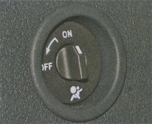 включение подушки безопасности Renault Logan