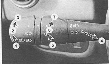 Выключатель наружного освещения Renault Logan 2