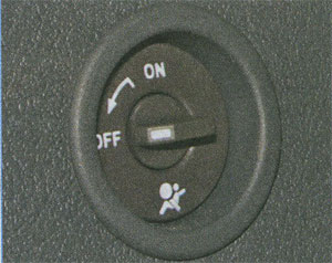 выключение подушки безопасности Renault Logan