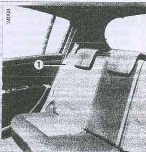 задние ремни безопасности Renault Clio 3