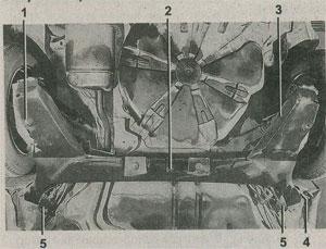 задняя подвеска Renault Megane II