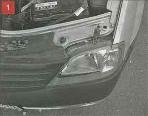 замена ламп Renault Logan