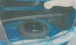 Запасное колесо Renault Logan 2